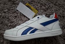 REEBOK CLASSIC ROYAL FLAG PRIME BOYS GIRLS TRAINERS SPORTS SHOES SIZE UK 4.5
