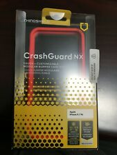 RhinoShield CrashGuard NX Modular Bumper Case for iPhone X/ XS - RED