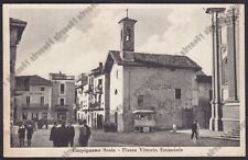 NOVARA CARPIGNANO SESIA 33 SCRITTA FASCISTA - VESPASIANO ORINATOIO viagg. 1941