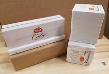 200 x Stella Artois Cidre Beer mats and wooden menu holder New