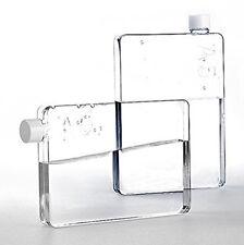 Genuine A5 Memo Water Bottle Clear Tritan 750ml Durable Slim Posh Leak Proof