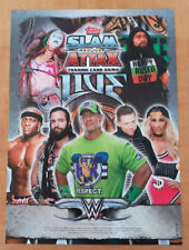 Topps Slam Attax Live Raw Base Cards numbers 81-145