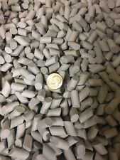 """New listing Ceramic Tumbling Media 15 pounds of 1/4"""" X 5/16"""" Angle Cut Cylinders"""
