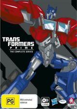 TRANSFORMERS - PRIME - THE COMPLETE SERIES (9 BLU-RAY DISC SET) NEW!!! SEALED!!!