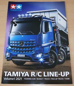 Tamiya 64432 R/C Line-Up Volume 1 2021 (English/RC), NEW
