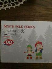 Dept 56 North Pole Village Accessory Dq Sweet Treats Nib
