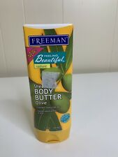 FREEMAN Radiant Shea Body Butter Olive Oil Discontinued Lotion 6 oz 80% Full