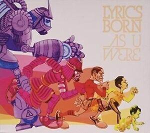 As U Were by Lyrics Born (CD, Mar-2016)