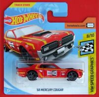 Hot Wheels 2018   ´68 MERCURY COUGAR  106/365 NEU&OVP