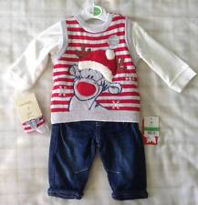 Disney Tigger Baby Boy 4 Piece Xmas Outfit 0-3 Months