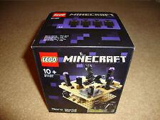 NEW - LEGO Minecraft 21107 - The End - BNIB + FREE P&P
