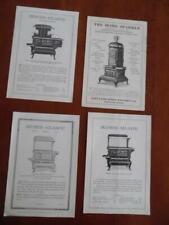 Portland Stove Foundry Catalog Sheet Lot Princess Duchess Home Sparkle Antique