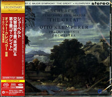 OTTO KLEMPERER-SCHUBERT: SYMPHONIES NO.8 UNFINISHED & 9...-JAPAN SACD HYBRID G88