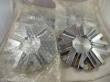 Lexani Wheels Chrome Custom Wheel Center Caps # C-112 / C-614T (SET OF 4)
