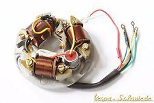 VESPA Zündgrundplatte 6V komplett - 5 Kabel / 3 Spulen - GT TS GL Sprint Zündung