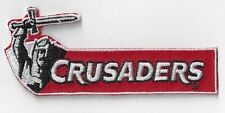 NEW ZEALAND CRUSADERS RUGBY IRON ON  PATCH BUY 2 GET 1 FREE = 3  of  THESE
