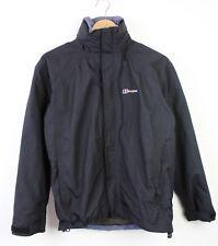 Berghaus Womens Aquafoil Black Outdoor Long Sleeve Jacket Coat - UK 10