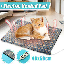 Electric Waterproof Heated Heating Cat Pet Dog Bed Sofa Pad Mat Cover 40x60cm