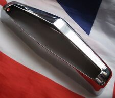 NOS AUSTIN A40 A60 AND OTHERs Number Plate Lamp Chrome Outer Cover