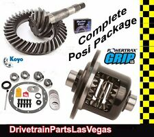 "Richmond Powertrax  Posi Pkg GM Chevrolet 8.5"" 8.6"" 30 Spline 3.73 Gears & Kit"
