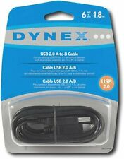 Dynex 6'ft USB 2.0 A/B Cable DX-C114194