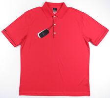 Greg Norman ML75 Playdry Rojo Sperformance Polo Hombre Nuevo con Etiqueta XL