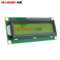 LCD1602 3.3V Yellow Backlight 16*2 Lines White Character LCD module 1602A
