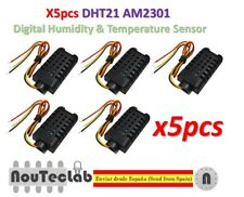 5pcs DHT21 AM2301 Digital-output Relative Humidity & Temperature Sensor Module
