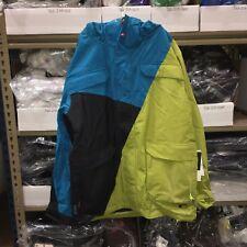 New Quiksilver Animal Drums Blue Snowboard Jacket - Men's Size XX-Large