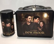 TWILIGHT Saga NEW MOON Lunch Box Complete WITH THERMOS; Edward, Jacob, & Bella