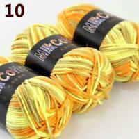 AIP New 3Skeinsx50g Soft DK Baby Cotton Crochet Yarn Hand Wool Scarf Knitting 10