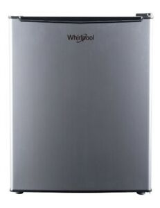 NEW WHIRLPOOL Mini Compact Small Refrigerator Stainless Steel Freezer 2.7cu ft