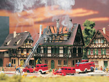 Vollmer N Scale 47738/7738 House on Fire Burning NEW USA DEALER! N N N