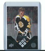 limited BOBBY ORR boston bruins BLACK DIAMOND QUAD card