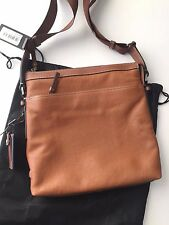 Tumi Men's Tan Brown Leather Bartlett Crossbody Messenger Bag 068901TN NWT
