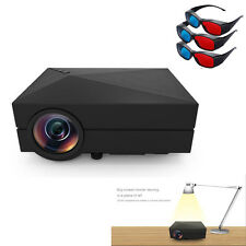 1000Lumens Home Cinema Theater Mini LCD Projector 1080P HD HDMI