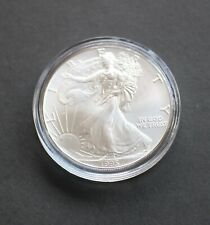 1995 US American Silver Eagle Brilliant Uncirculated Bullion Coin from New Roll