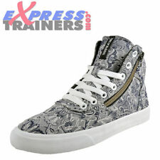 Paisley Canvas Lace Up Shoes for Women