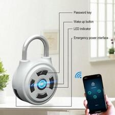 Fingerprint Padlock Electronic Wireless Home Smart Lock Keyless Control Password