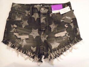 Mossimo Jean Shorts Super Stretch Cotton   4  12