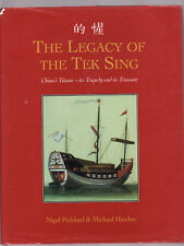 THE LEGACY OF THE TEK SING - PICKFORD China Titanic tragedy treasure ship SIGNED