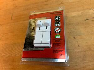 Legrand Pass Seymour LSDC163PWV Preset Slide LIght & Fan Control Dimmer - White