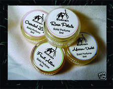 FOUR Exotic Solid Perfume Oils by Sukran ~ GIFT SET
