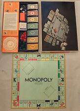 Monopoly Anniversary Edition 1974 Board Game Parker Brothers Complete