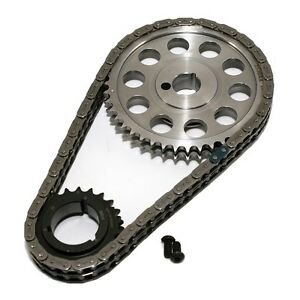 SA GEAR 78530TR Billet Gear Timing Chain Set Ford 429 460 .250 Double Roller