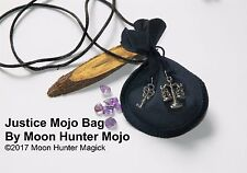 Justice Court Case Mojo Bag Court Case Charm Justice Spell Hand Made Amulet
