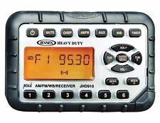 Jensen Water Proof Stereo Radio JHD910 for ATV UTV Golf Cart Skid Steer Tractor
