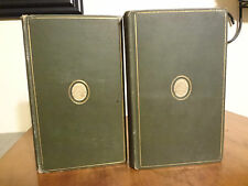 1892 Reveries of a Bachelor and Dream Life Mitchel IK Marvel 2 vol Antique Book