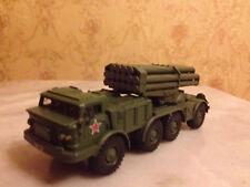 BM-27 Uragan Soviet/Russian multiple rocket launcher system 1:72 complete model