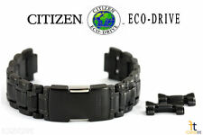Citizen Eco-Drive E870-S065101 22mm Black/Gray Tone Stainless Steel Watch Band